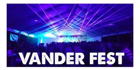 Vander Fest tickets