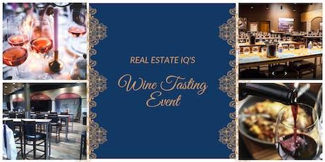 Houston - Real Estate IQ's Wine Tasting Event tickets