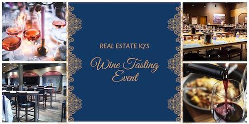 Houston - Real Estate IQ's Wine Tasting Event