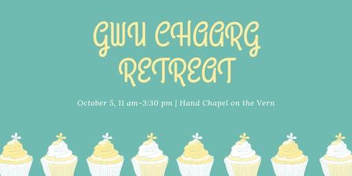 1st annual GWU CHAARG RETREAT!