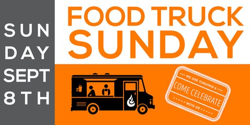 Food Truck Sunday - Celebrating 6 years of City Light