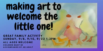 Making Art to Welcome the Little One! (Workshop)