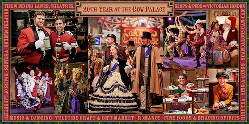 The Great Dickens Christmas Fair 2019 - 5 Weekends & One Friday