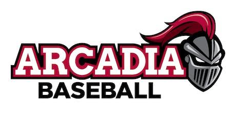 Arcadia University Baseball Future Knights Prospect Camp tickets