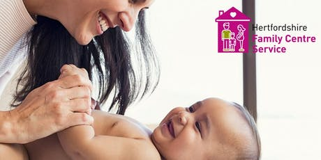 Baby Massage - Hertford Selections Family Centre - 10.09.19-08.10.19 13.30-15.00 tickets