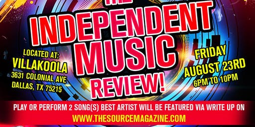The Independent Music Review  / Receive write up on The Source.com