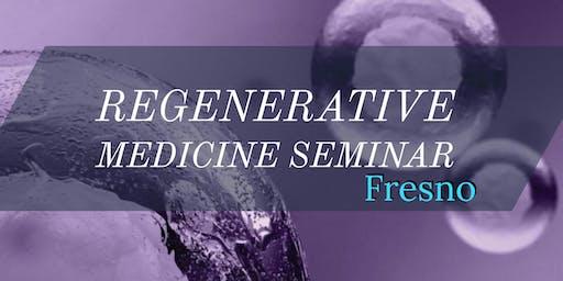 Free Regenerative Medicine for Pain Relief Seminar - Fresno, CA