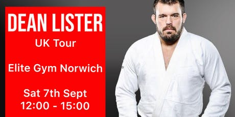Dean Lister Seminar - Norwich tickets