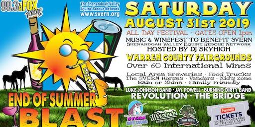 DJ SKYHIGH'S End Of Summer Blast to Benefit SVERN