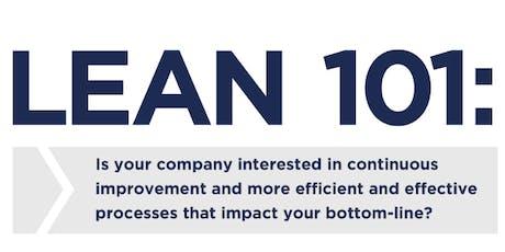 Lean 101:  Training Seminar tickets