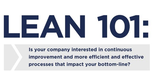 Lean 101:  Training Seminar
