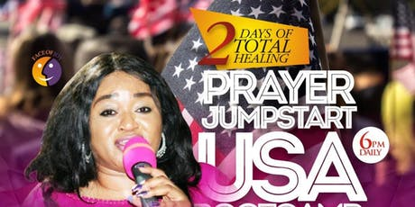 Prayer Jumpstart USA Bootcamp biglietti