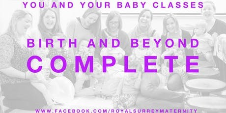 Birth and Beyond Complete Package Godalming- November/December for due dates Feb/March 2019 tickets