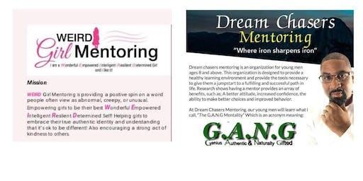 Dream Chasers & WEIRD Girl Mentoring 2019-2020 Open Enrollment