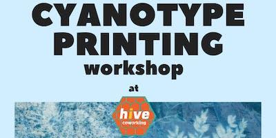 Hive Creative - Cyanotype Workshop