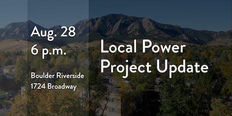 Local Power Update tickets