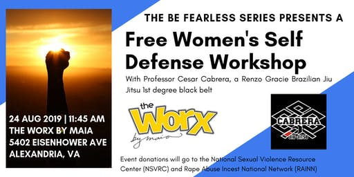 Be Fearless: A Women's Self Defense Workshop