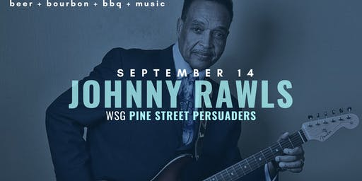 Johnny Rawls with Pine Street Persuasders