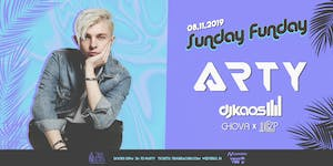 SUNDAY FUNDAY ft. ARTY at Tikki Beach | 8.11.19