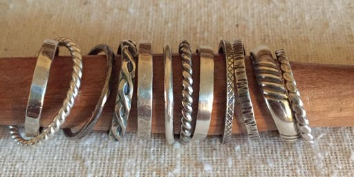 Beginner Silver Ring Bands One-Day Workshop