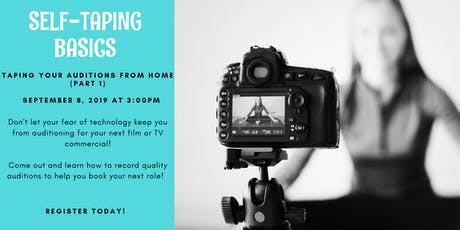 Self-Taping Workshop  tickets