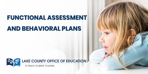 Functional Assessment and Behavioral Plans