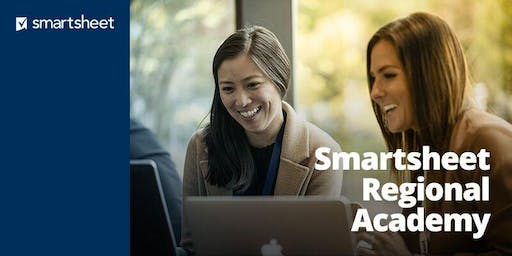 Smartsheet Regional Academy - Boston - October 16th-17th