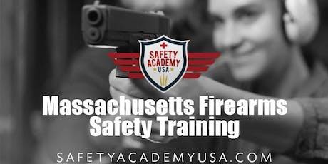 Massachusetts Basic Firearms Safety Class tickets