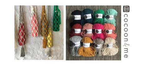 Macrame water bottle bag workshop tickets