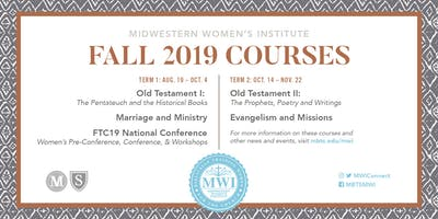 MWI Marriage & Ministry Course (8/27 date only)