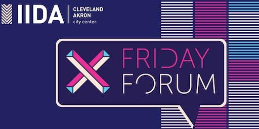 IIDA OHKY 2019 Fall Friday Forum