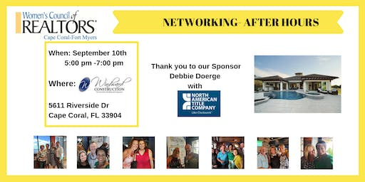 Women's Council of REALTORS Cape Coral-Fort Myers Networking - After Hours