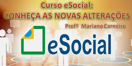 eSocial: CONHEÇA AS NOVAS ALTERAÇÕES