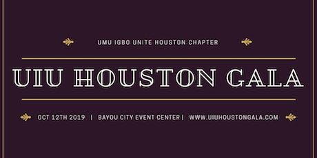 UIU Houston Gala Sat Oct 12th tickets