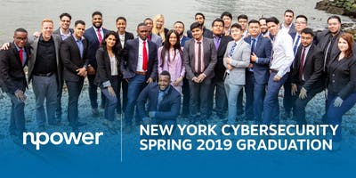 NPower New York  Spring 2019 Cybersecurity Graduation