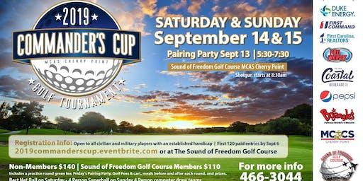 MCAS Cherry Point Commander's Cup Golf Tournament 2019