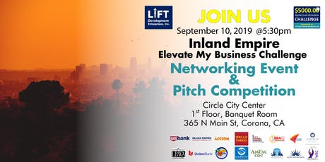 2019 Inland Empire Elevate My Business Challenge Pitch & Networking Event tickets