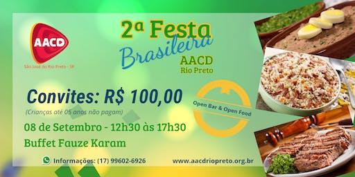 2ª Festa Brasileira AACD Rio Preto