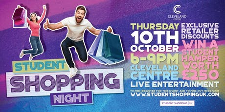 Student Shopping Night at the Cleveland Centre tickets