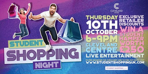 Student Shopping Night at the Cleveland Centre