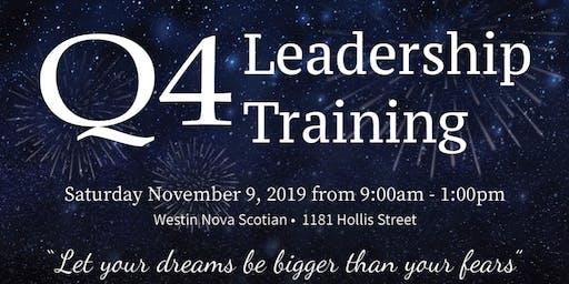 Q4 Leadership Training
