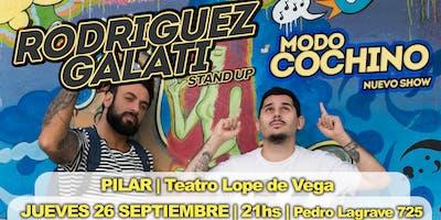 Rodriguez Galati - MODO COCHINO - Pilar (26 de Septiembre, 21hs)