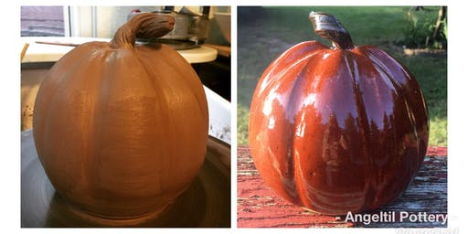 Hand-build a Clay Pumpkin