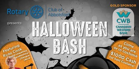 2nd Annual - HALLOWEEN BASH presented by Rotary Club of Abbotsford  tickets