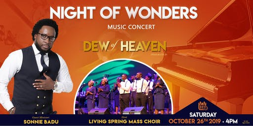 Night of Wonders Music Concert Feat. Sonnie Badu