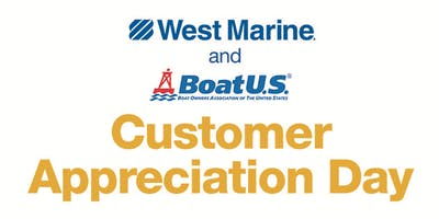 West Marine Mount Pleasant Presents Customer Appreciation Day!