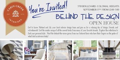 """""""Behind the Design"""" Open House"""