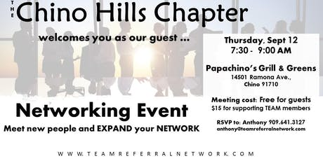 Chino Hills Chapter Invitation Day tickets