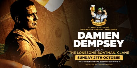 Damien Dempsey at The Lonesome Boatman, Clane tickets