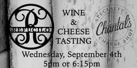 Wine & Cheese tickets